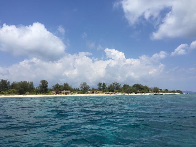 梦境之旅------巴厘岛自由行(三) 初抵Gili Meno岛